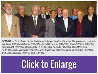 Detroit Past Chairs